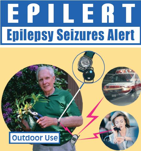 Détecteur de crise d'épilepsie Epilert