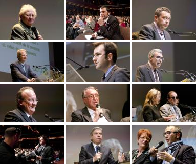 Les intervenants des Trophées du Grand Age 2011
