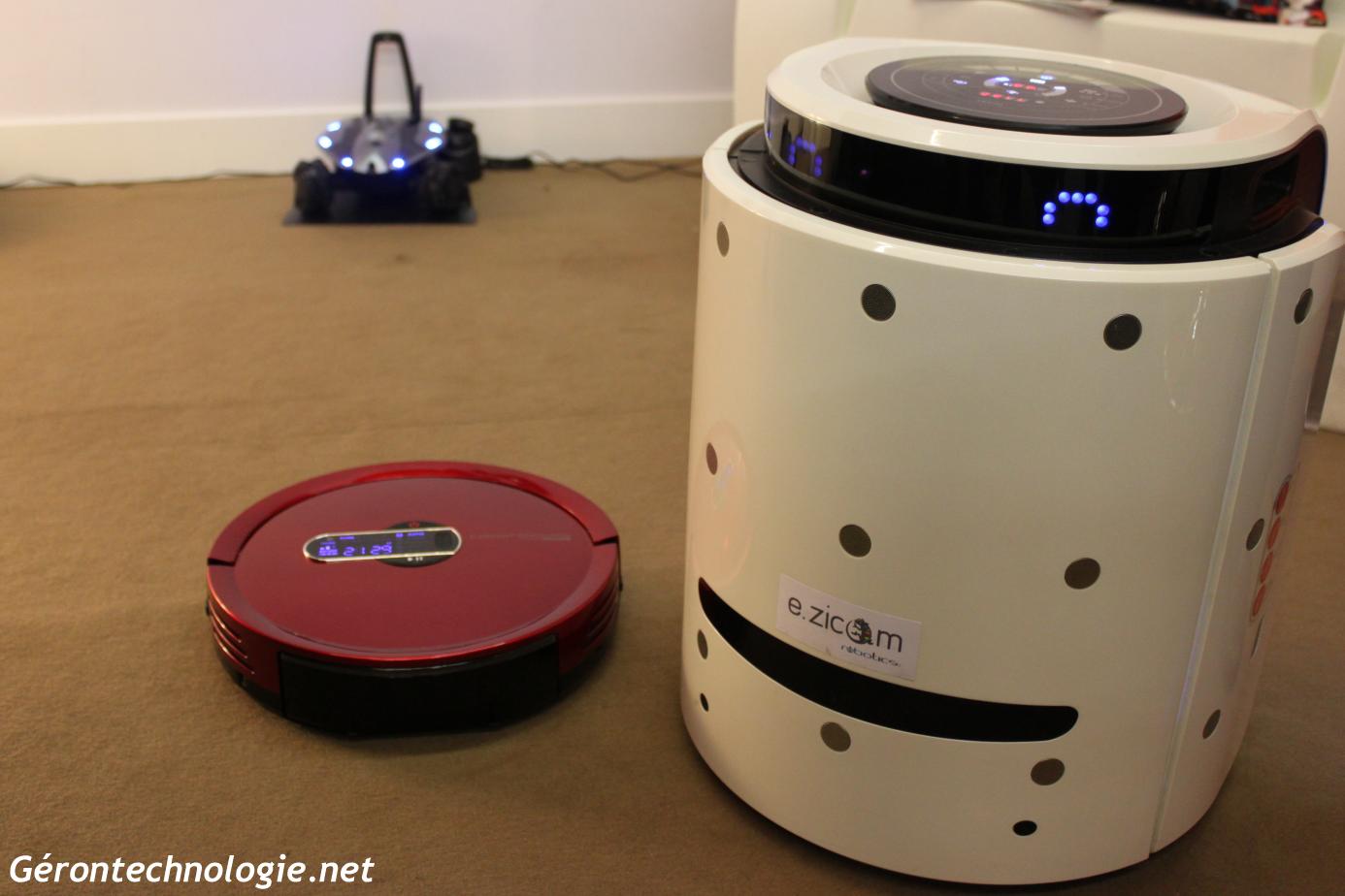 Robots ménagers de Robootics