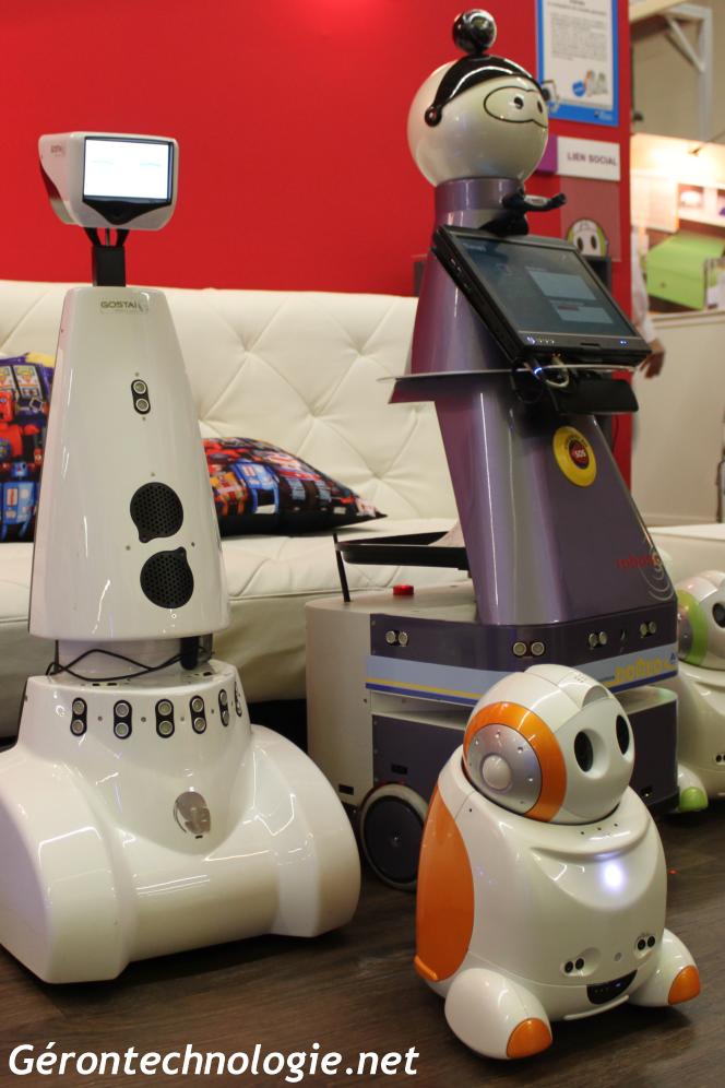Robots assistants et de lien social