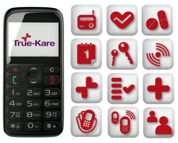 Les Services de téléphonie pour Personne âgée True-Kare