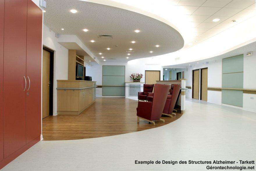 Design des structures alzheimer - Tarkett