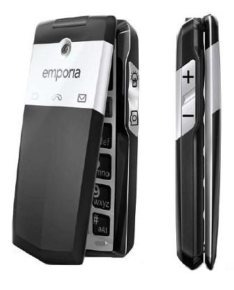 emporiaclick un nouveau t l phone portable pour seniors avec clapet silver economie. Black Bedroom Furniture Sets. Home Design Ideas