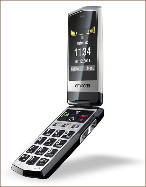 emporiaCLICK téléphone portable pour personne âgée