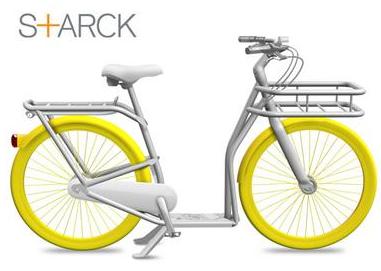 Vélo trotinette Starck