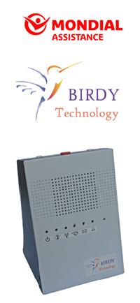 GTS selectionne la birdy box