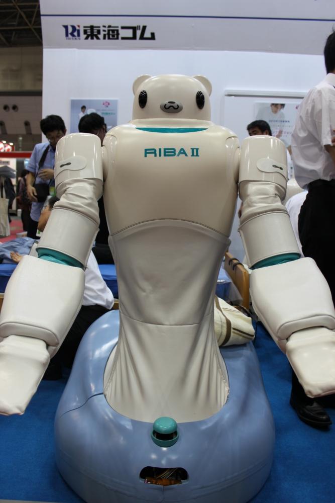 Le robot RIBA 2 - Crédit Photo Gérontechnologie.net