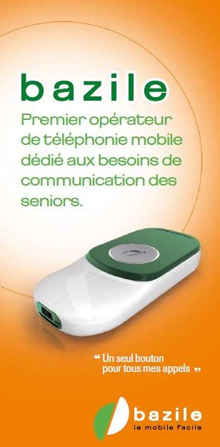 Bazile, le premier opérateur mobile français dédié aux seniors et aux personnes âgées