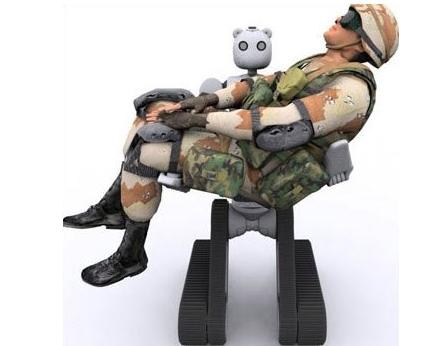Bear robot militaire
