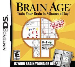 brain age nintendo pour seniors et personnes âgées