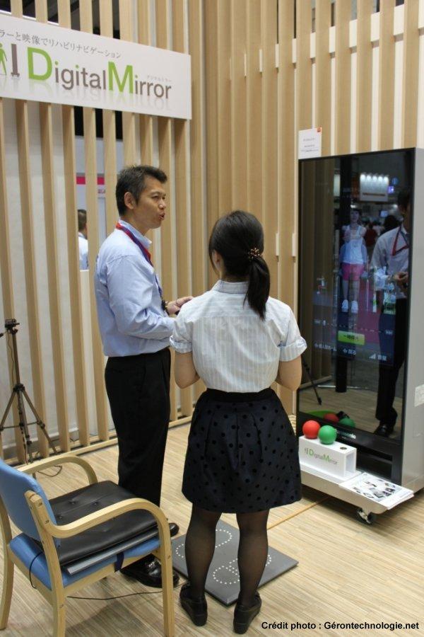 miroir interactif rééducation