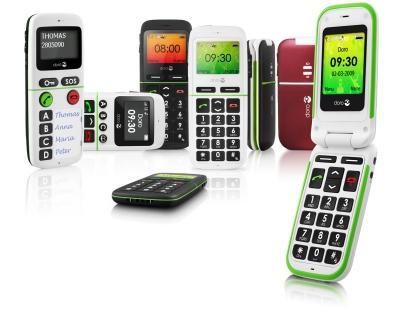 La gamme de GSM Doro