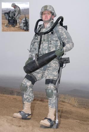 HULC robot militaire