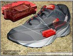 Chaussure GPS