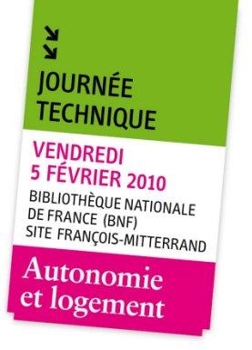 Journ e technique autonomie et logement 5 f vrier 2010 paris silver economie for Caisse nationale de logement