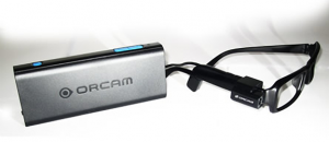 orcam lunettes realite augmentee