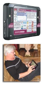 ordimemo l ordinateur tactile ultra portable pour seniors silver economie. Black Bedroom Furniture Sets. Home Design Ideas