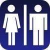 ou sont les toilettes icon