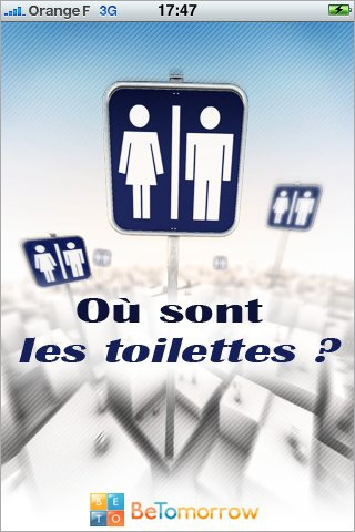 toilettes iphone seniors