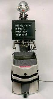 Pearl Robot assistant pour personnes âgées