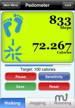 Pedometer iphone seniors