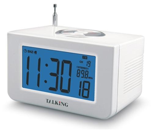 Reveil et horloge parlants