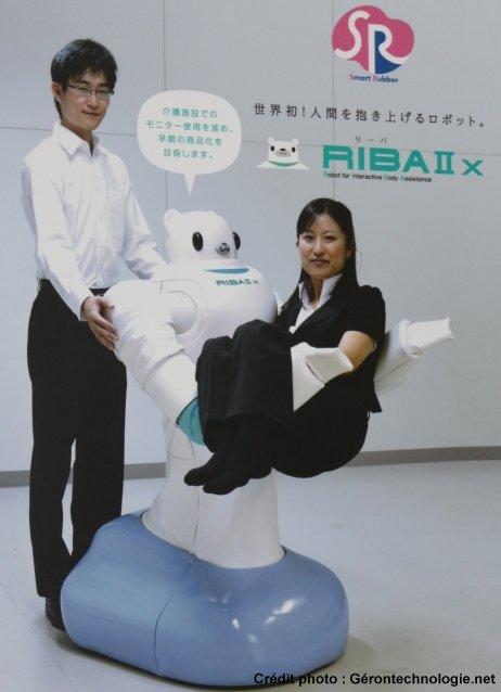 robot riba salon japon