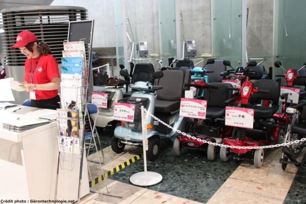 visiteurs test scooters electriques