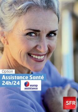 SFR assistance santé europ assistance