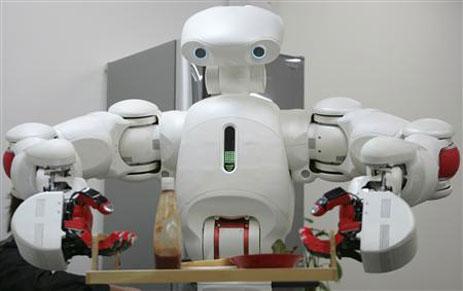 twendy-one robot d'assistance aux personnes âgées