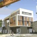 Projet de fin d'étude mené sur un quartier de Strasbourg (67) par des élèves de l'école d'Architecture de Strasbourg