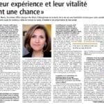 Focus, un supplément du journal Libération sur l'accompagnement des aînés