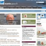 Lancement du portail esante.gouv.fr, le gouvernement et l'ASIP Santé visent à accélérer le développement de la e-santé