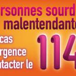 114 : Le numéro d'urgence pour les personnes sourdes ou malentendantes