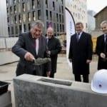 Gérontopôle: Pose de la 1ère pierre de la Maison régionale de l'autonomie et de la longévité