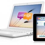 Webinage cible les collectivités locales avec son réseau social visiophonique sur tablettes tactiles