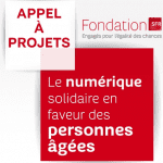 Le numérique solidaire en faveur des personnes âgées : 2ème appel à projets de la Fondation SFR