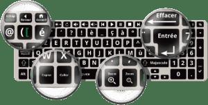 Doro-PC-clavier