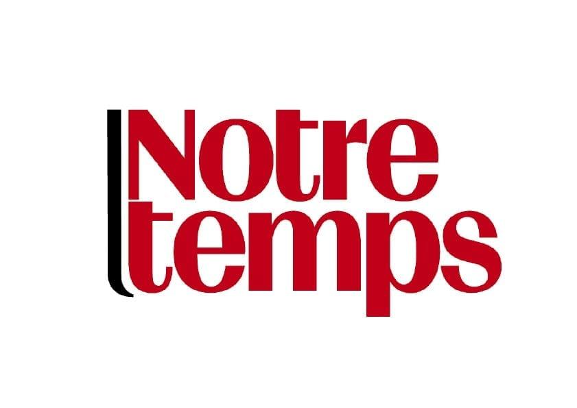 Logo Notre temps Rouge