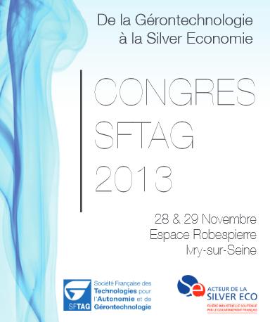 congres SFTAG gerontechnologies 2013