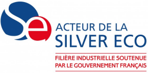 Silver économie logo