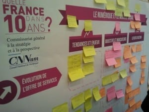 """séance de Brainstorming sur """"Le numérique et la France dans 10 ans"""""""