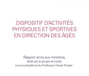 rapport Dispositif d'activités physiques et sportives en direction des agés