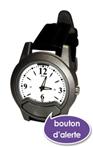 montre avec bouton d'alerte téléassistance