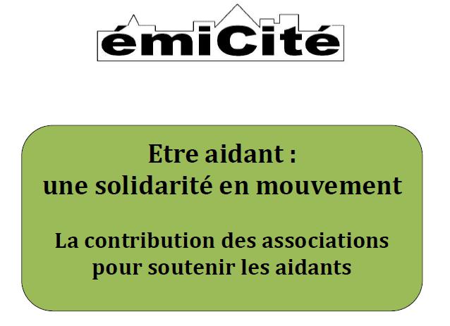 Etre aidant, une solidarité en mouvement