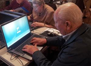 internet et les âgés