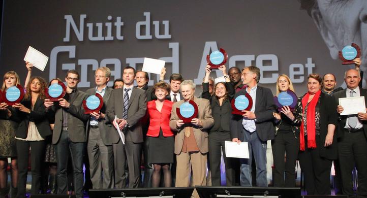 lauréats 2013 Nuit du Grand Age et du Bien Vieillir
