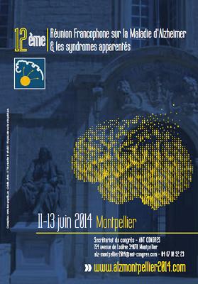 12e réunion francophone sur la maladie d'Alzheimer et les syndromes apparentés