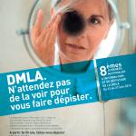 Du 23 au 27 juin 2014 : 8e Journées Nationales d'information et de dépistage de la DMLA