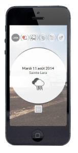 Application Smartphone LARA